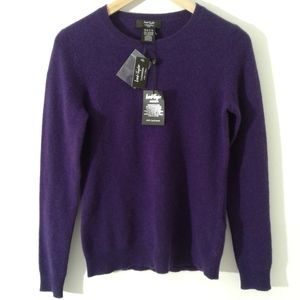 NWT Lord and Taylor 100% Cashmere Sweater Size Small